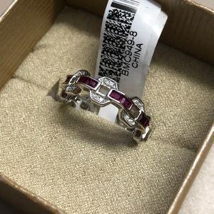 Jewelry - Rhodium Over Silver Ring 1.87ctw
